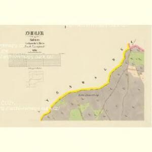 Zeidler - c0538-2-001 - Kaiserpflichtexemplar der Landkarten des stabilen Katasters