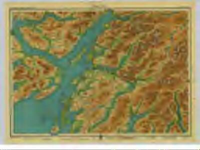 Argyll, Sheet 11  - Bartholomew's
