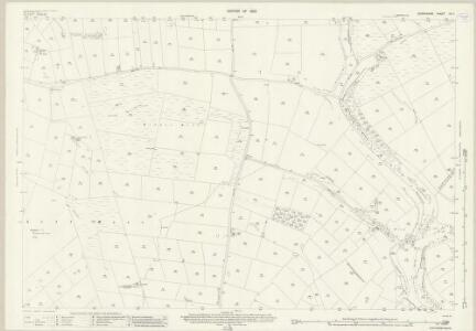 Derbyshire XV.7 (includes: Peak Forest; Tideswell; Wheston; Wormhill) - 25 Inch Map