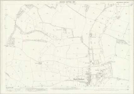 Hertfordshire XXII.11 (includes: Little Hadham; Much Hadham; Standon) - 25 Inch Map