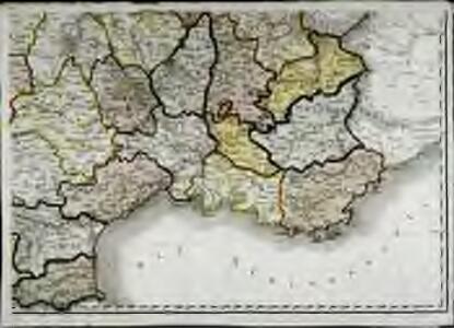 Carte de la république de France, no. 6