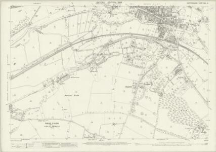 Hertfordshire XXIX.12 (includes: Great Amwell; Hertford; Ware Rural; Ware Urban) - 25 Inch Map