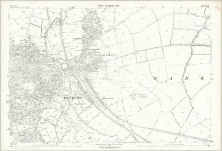 Oxfordshire VI.9 (includes: Banbury; Warkworth) - 25 Inch Map