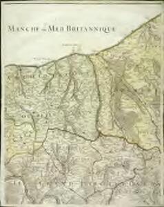 Carte particuliere du diocese de Rouen, 2