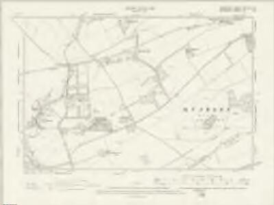 Hampshire & Isle of Wight XXII.SW & SE - OS Six-Inch Map