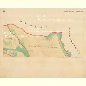 Piesling - m2287-1-002 - Kaiserpflichtexemplar der Landkarten des stabilen Katasters