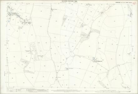 Hampshire and Isle of Wight XCVII.8 (includes: Brixton; Shorwell) - 25 Inch Map