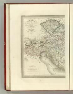 Carte Generale l'Empire d'Autriche.