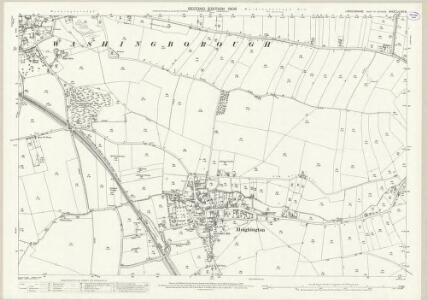 Lincolnshire LXXI.9 (includes: Heighington; Washingborough) - 25 Inch Map