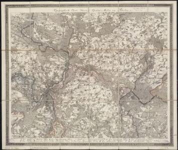 Topographische Carte : Hundert Quadrat-Meilen um Berlin