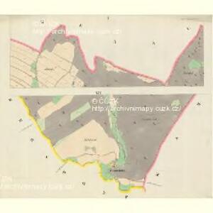 Wigstadtl (Wittkow) - m3417-1-001 - Kaiserpflichtexemplar der Landkarten des stabilen Katasters