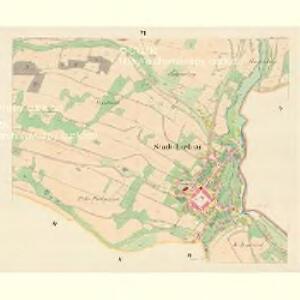 Liebau (Libowa) - m1773-1-006 - Kaiserpflichtexemplar der Landkarten des stabilen Katasters