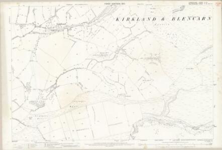 Cumberland LI.14 (includes: Culgaith) - 25 Inch Map