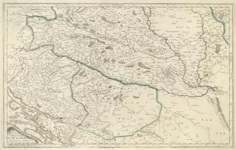 Partie Meridionalle du Rme. de Hongrie tirée de divers Autheurs