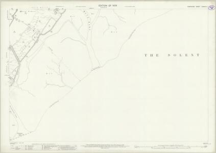 Hampshire and Isle of Wight LXXXVIII.11 (includes: Lymington) - 25 Inch Map