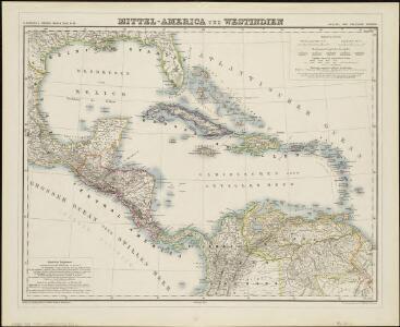 Mittel-America und Westindien