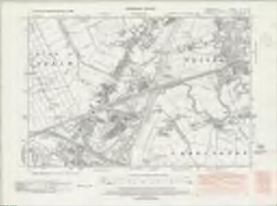 Lancashire CX.NW - OS Six-Inch Map