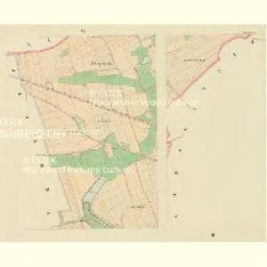Taus (Domazlice) - c1433-1-002 - Kaiserpflichtexemplar der Landkarten des stabilen Katasters