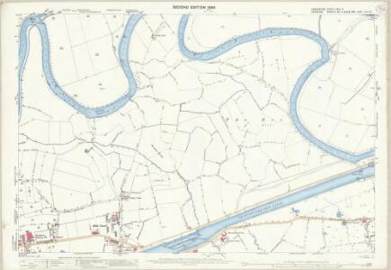 Lancashire CXVI.2 (includes: Grappenhall; Poulton With Fearnhead; Warrington; Woolston) - 25 Inch Map