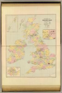 Parliamentary map, British Isles.