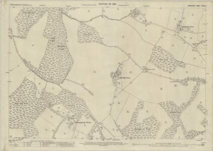 Berkshire XXVIII.5 (includes: Aldworth; Ashampstead; Basildon; Streatley) - 25 Inch Map