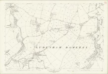 Devon CV.1 (includes: Lamerton; Milton Abbot; Sydenham Damerel) - 25 Inch Map