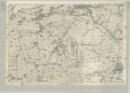 Cheshire XVIII - OS Six-Inch Map