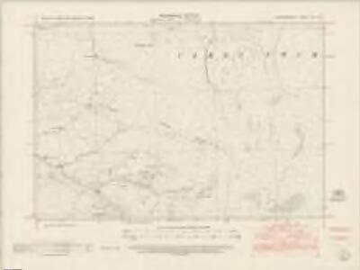 Cardiganshire XXI.SE - OS Six-Inch Map