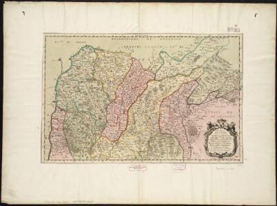 Insubres in Segusianis : partie du dioecese et archevche de Lyon : partie septentrionale de Bresse, Bugey, et Valromey, divisée en leurs mandements le Balliage de Gex