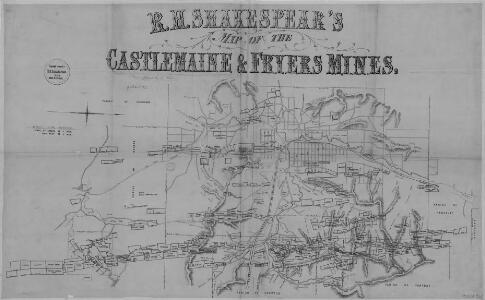 Castelemaine and Fryers Mines (1865)
