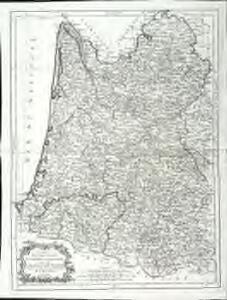Carte du gouvernement de Guienne et Gascogne