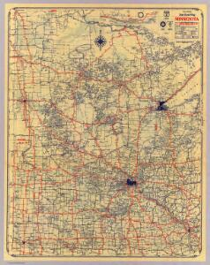 Minnesota standard map.