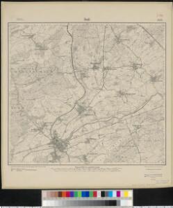 Meßtischblatt 3592 : Duß, 1917