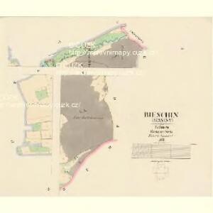 Bieschin (Běssiny) - c0213-1-002 - Kaiserpflichtexemplar der Landkarten des stabilen Katasters