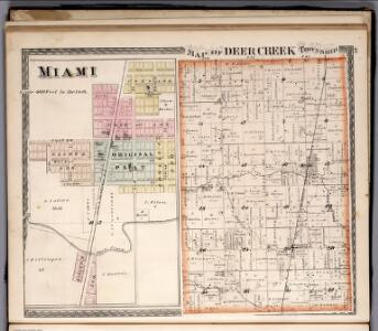 Deer Creek Township.  Miami, Indiana.
