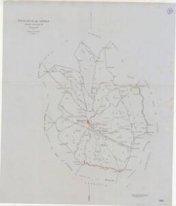 Mapa planimètric de Juncosa
