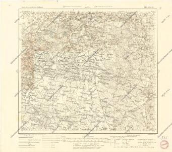 Karte des westlichen Russlands L18