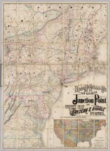 Railroad Map Of The Eastern & Middle States.