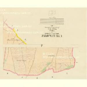Unt: Lukawitz (Dolnj Lukawice) - c1336-1-004 - Kaiserpflichtexemplar der Landkarten des stabilen Katasters