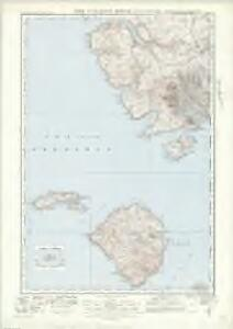 The Cuillins, Rhum  & Canna (34) - OS One-Inch map