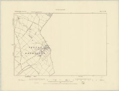 Northamptonshire XL.SW - OS Six-Inch Map