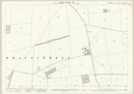 Lincolnshire XCVII.4 (includes: Digby; Dorrington; Ruskington) - 25 Inch Map