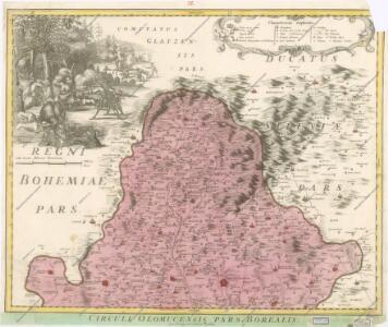 Marchionatus Moraviae Circulus Olomucensis pars Borealis