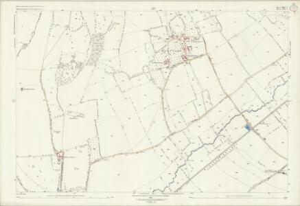 Gloucestershire XIII.1 (includes: Ashton under Hill; Beckford; Conderton; Dumbleton) - 25 Inch Map