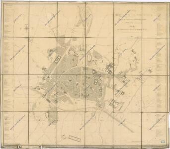 Nouveau Plan de la ville de Montpelier...