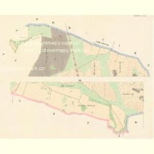 Hradeschitz (Hradessitz) - c2302-1-004 - Kaiserpflichtexemplar der Landkarten des stabilen Katasters
