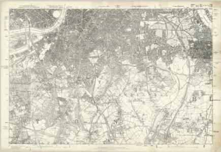 Middlesex XXII - OS Six-Inch Map