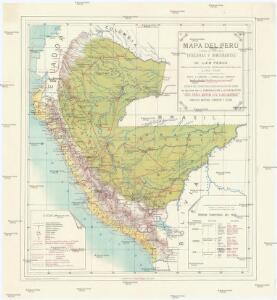 Mapa del Perú