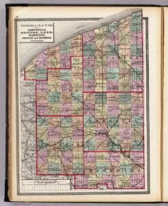 Ashtabula, Geauga, Lake, Mahoning, Portage and Trumbull counties.