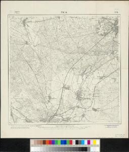 Meßtischblatt 2176 : Zinna, 1921